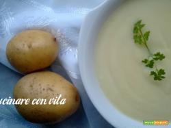 Vellutata di porri e patate