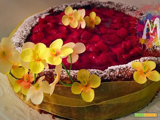 Torta morbidosa di limoni e mandorle