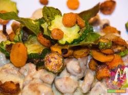 Blanquette di tacchino 2.0 con carote e zucchine