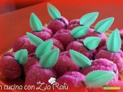 Pesche dolci con la nutella