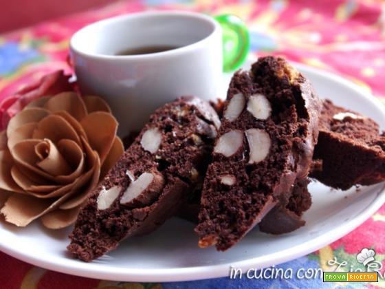 Cantucci cioccolatosi