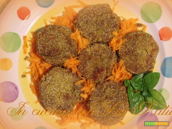 burgers di lenticchie.... naturalmente vegan
