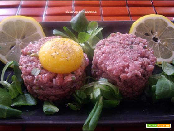 Tartare di Carne (bistecca alla tartara)