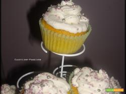 Cupcakes alla Zucca e Carote con frosting al Mascarpone