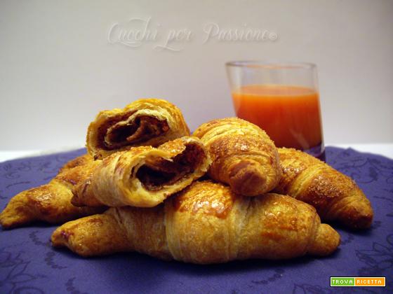 Croissant alla Nutella | Dolci