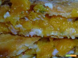 Calzone di zucca e pancetta affumicata