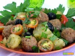 Insalata di polpette e patate