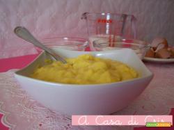 Crema pasticcera classica al limone