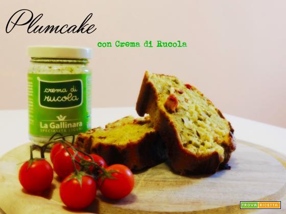 Plumcake con Crema di Rucola