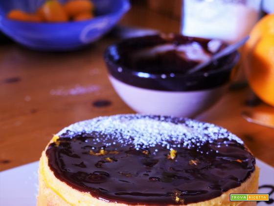 la soffice torta all'arancia