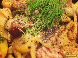 """Le ricette di TUC: Due Franciacortine in Cucina e i tagliolini con capretto, fave di """"quiz"""" e carciofi"""