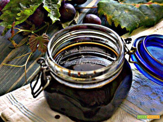 Mosto cotto d'uva- Cooked grape must