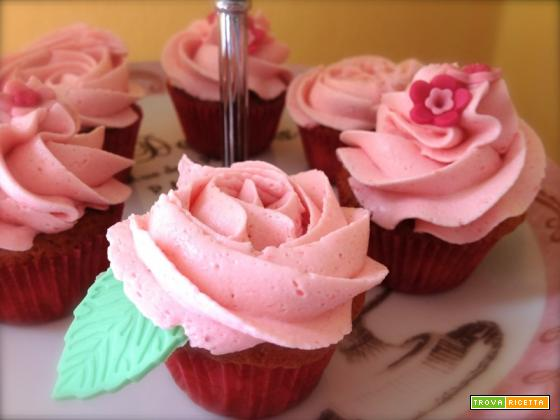 Mini cupcakes alle fragole