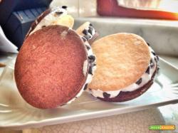Delizie di gelato alla panna