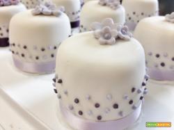 Mini cakes fiorite