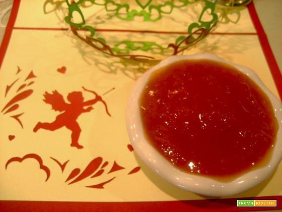 Marmellata di pompelmi rossi e peperoncino