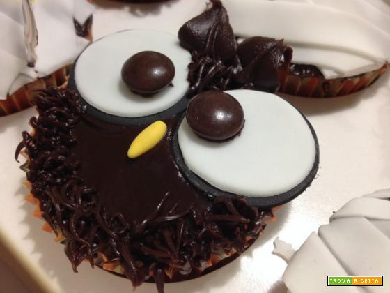 Cupcakes Halloween al caffè e cioccolato