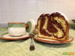 Plumcake al cioccolato aromatizzato all'arancio