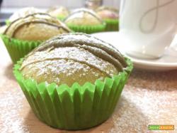 Muffin leggeri al kiwi
