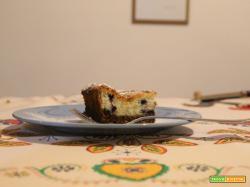Cheesecake mirtilli e cocco