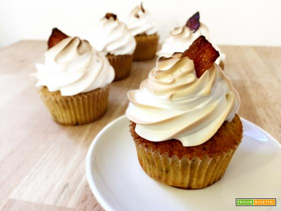 Cupcakes alla pancetta caramellata