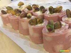 Finger Food veloci: Sushi di mortadella