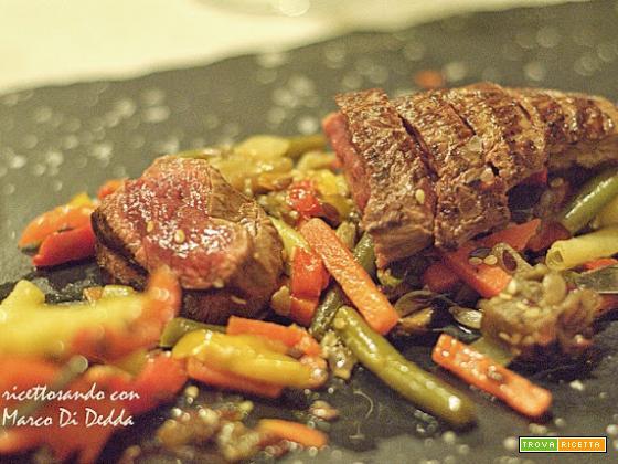 I segreti di una tagliata perfetta dello chef Marco Di Dedda