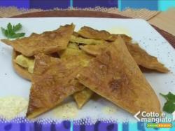 Torta di ceci (farinata o cecina) - Cotto e mangiato