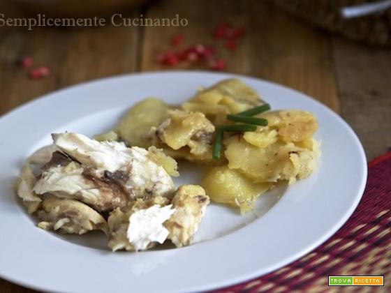 Cefalo al forno con patate