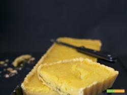 Crostata con farina di mais e lemon curd
