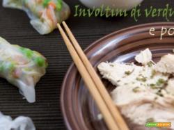 Involtini di verdure e pollo