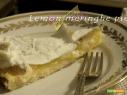Lemon meringue pie: la ricetta inglese