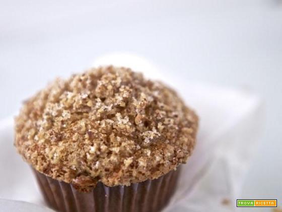 Muffins alla zucca e crumble di mandorle