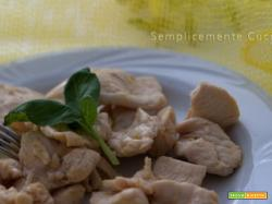 Petto di pollo limone e curry