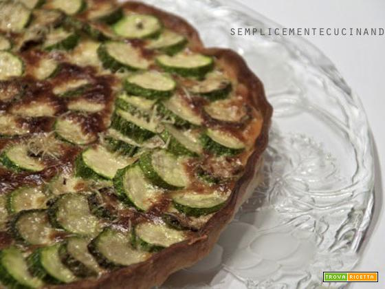 Torta salata di zucchine e stracchino