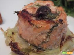salmone, persico e gamberi terza ricetta