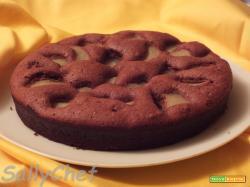 torta banana e cioccolato, un nuovo look