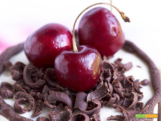 CHEESECAKE CIOCCOLATO e CILIEGIE BLACK FOREST | VEGAN RAW SENZA GLUTINE