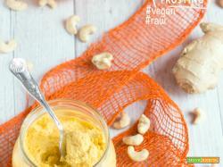 Crema Raw agli Anacardi con Arancia e Zenzero | Vegan & GlutenFree