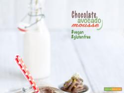 Mousse Cioccolato e Avocado |Vegan & Senza Glutine