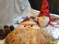 Babbo Natale di panbrioche