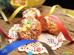 Castagnole di Carnevale fritte
