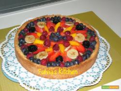 Crostata alla frutta e crema pasticcera