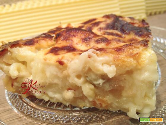 Lasagne ricce ai 4 formaggi con le pere – 'E Sarracin