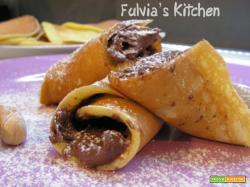 Pancakes nocciolosi alla Nutella