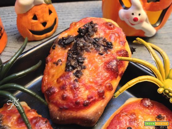 Pizzette bara per Halloween