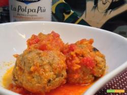 Polpette con melanzane al sugo Polpapiù di Cirio