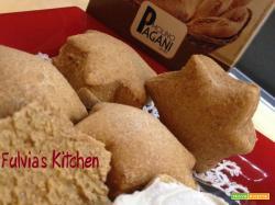 Stelle di pane alla paprika dolce con pasta madre