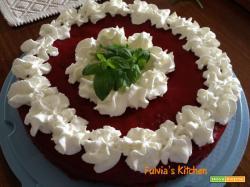 Torta glassata alle ciliegie