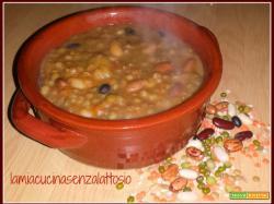 Zuppa di legumi (senza lattosio)